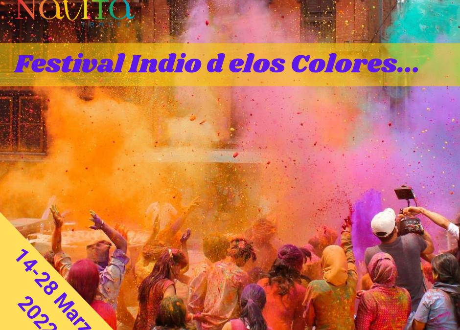 HOLI, EL FESTIVAL INDIO DE LOS COLORES